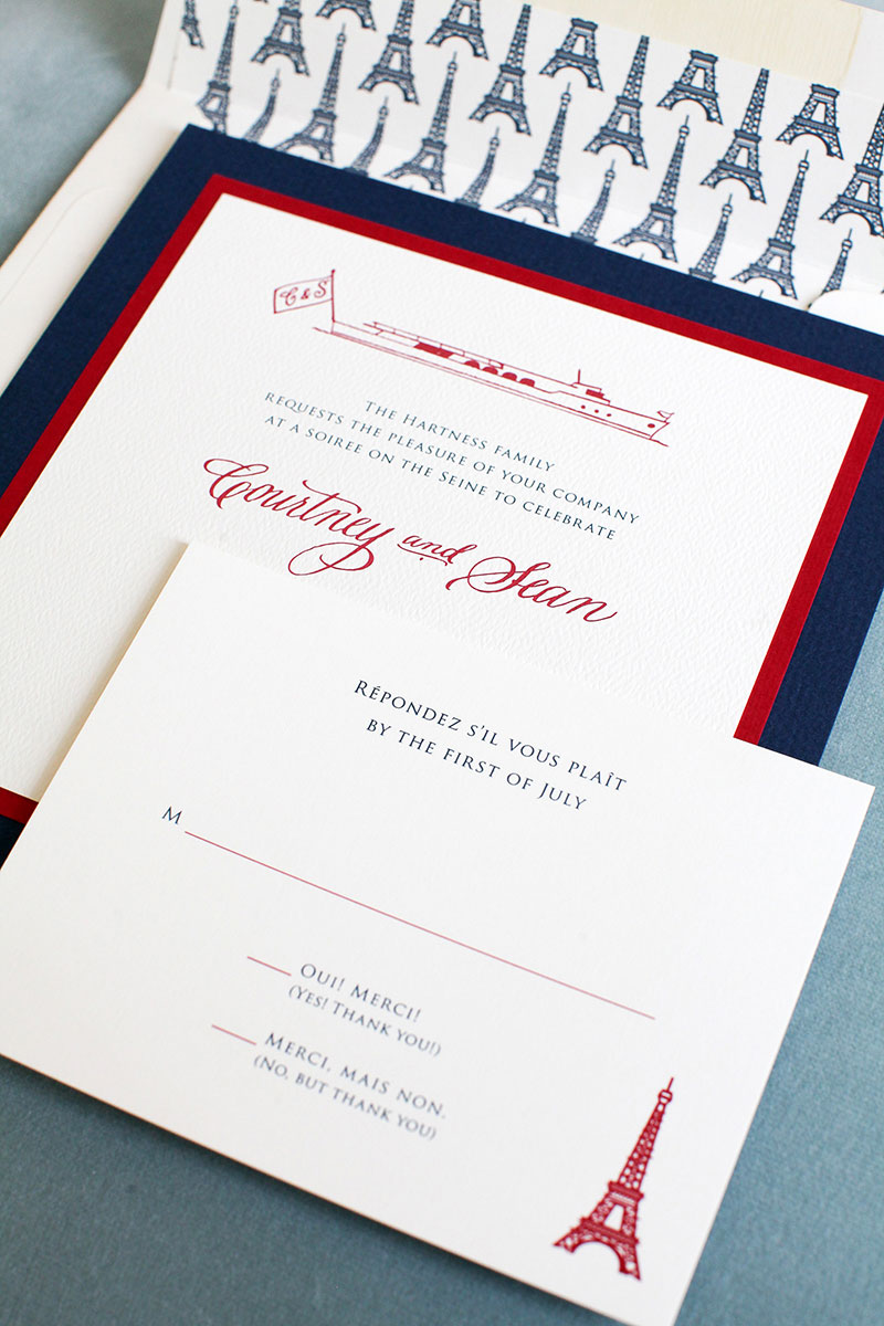 Rehearsal Dinner Invitations – Dulles Designs